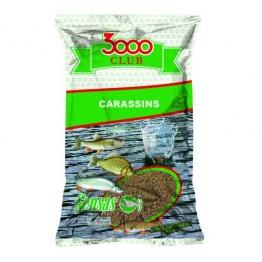 Прикормка Sensas 3000 Club Carassin 1 кг (Карась)